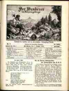 Der Wanderer im Riesengebirge, 1914, nr 8