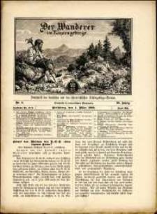 Der Wanderer im Riesengebirge, 1909, nr 3