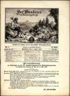 Der Wanderer im Riesengebirge, 1910, nr 4