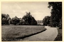 Bad Warmbrunn i. Riesengebirge Kurpark m. Gesellschaftshaus Galerie und Schloss [Dokument ikonograficzny]