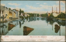 Görlitz. Blick von der alten Neissebrücke [Dokument ikonograficzny]
