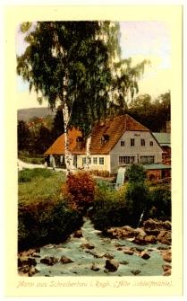 Motiv aus Schreiberhau i. Rsgb. (Alte Schleifmühle) [Dokument ikonograficzny]