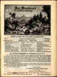 Der Wanderer im Riesengebirge, 1913, nr 8