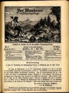 Der Wanderer im Riesengebirge, 1915, nr 5