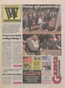 Gazeta Powiatowa - Wiadomości Oławskie, 1999, nr 37 (331) [Dokument elektroniczny]