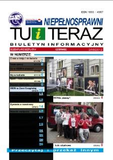 Niepełnosprawni Tu i Teraz : biuletyn informacyjny, 2012, nr 3 (46)