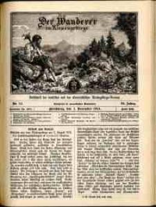 Der Wanderer im Riesengebirge, 1914, nr 11