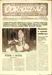 """Odrodzenie : tygodnik publicystyczny NSZZ """"Solidarność"""", 1981, nr 13"""