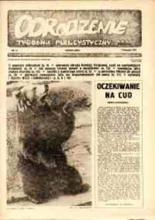 """Odrodzenie : tygodnik publicystyczny NSZZ """"Solidarność"""", 1981, nr 17"""