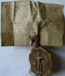 Dokument książąt Henryka i Bernarda nadający ziemię rycerzowi Friczko w Jeleniej Górze (Malinniku)