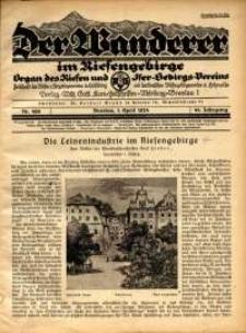 Der Wanderer im Riesengebirge, 1924, nr 4