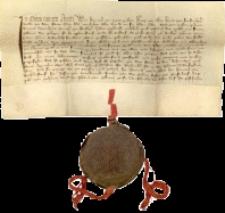 Dokument księcia Henryka Jaworskiego dotyczący sprzedaży lasu między Piechowicami a Sobieszowem